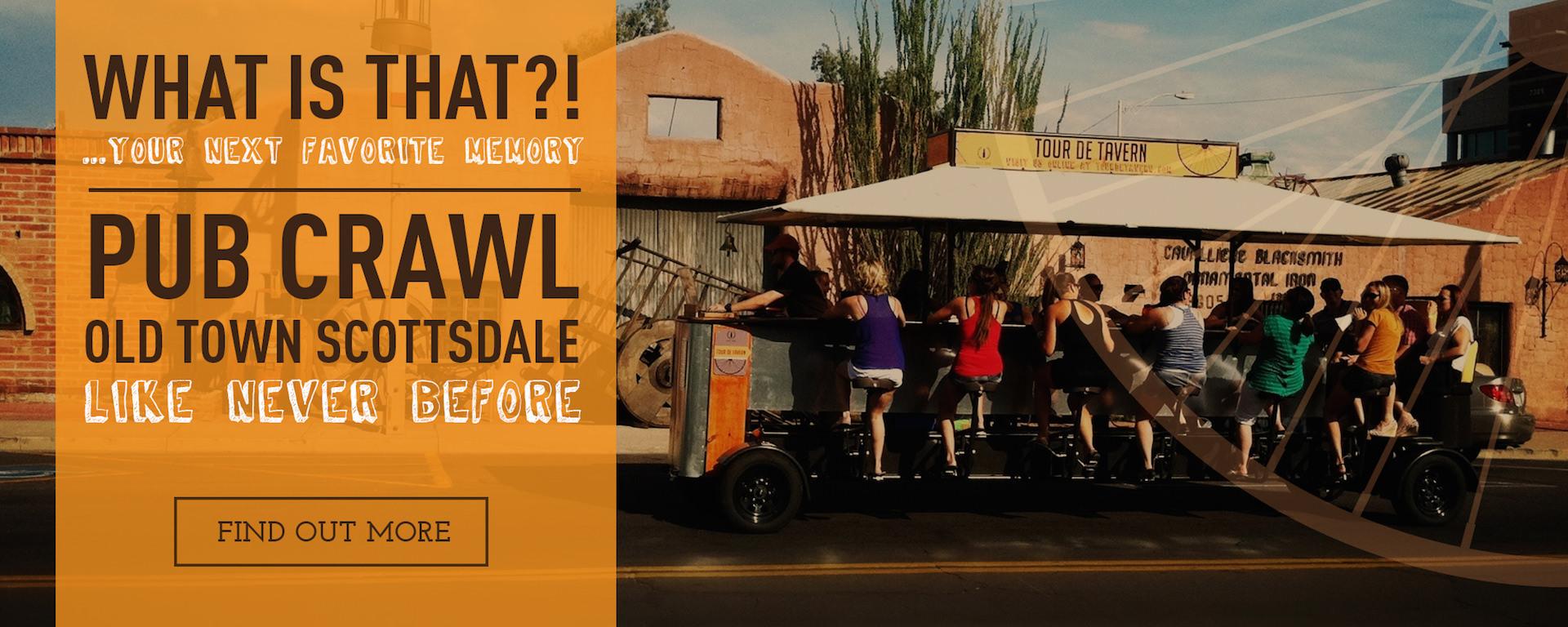 Scottsdale Pub Crawl, Scottsdale Party Bike